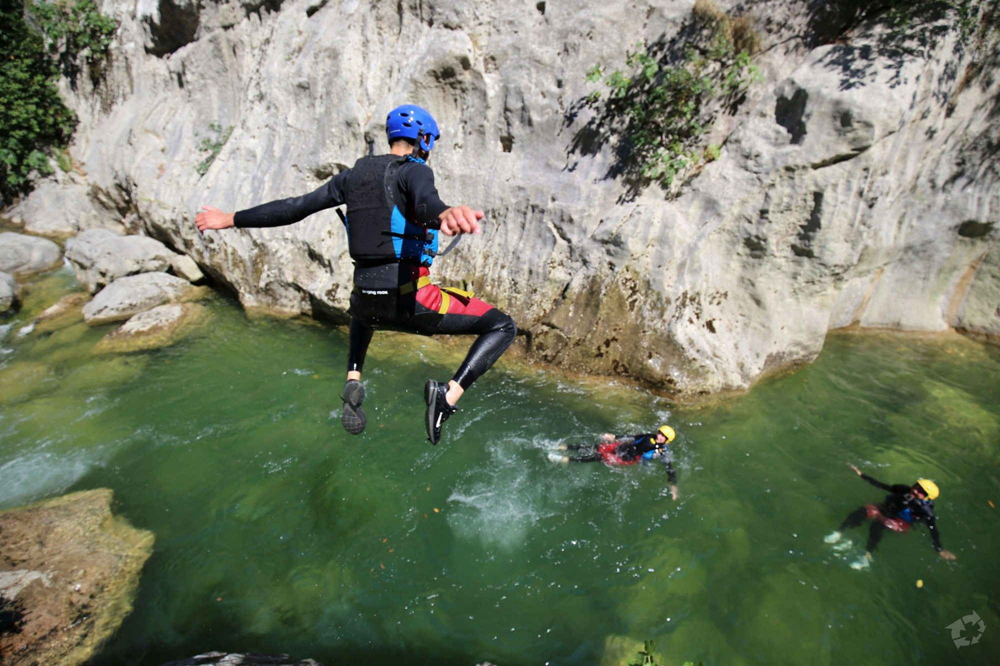 2018 Excursion >> Canyoning excursion on Cetina River from Split - Croatia