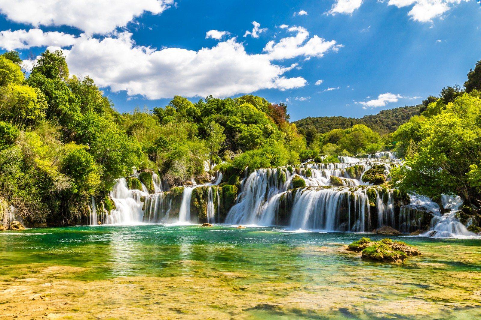 National Park Krka Waterfalls Šibenik